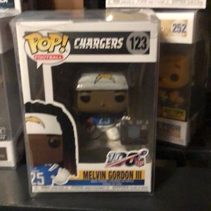 Funko pop NFL  Melvin Gordon III